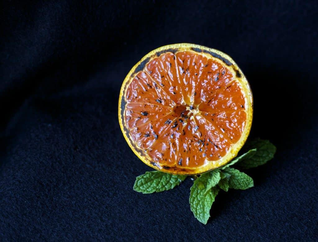 broiled grapefruit 1