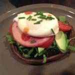 poached egg portobello mushroom