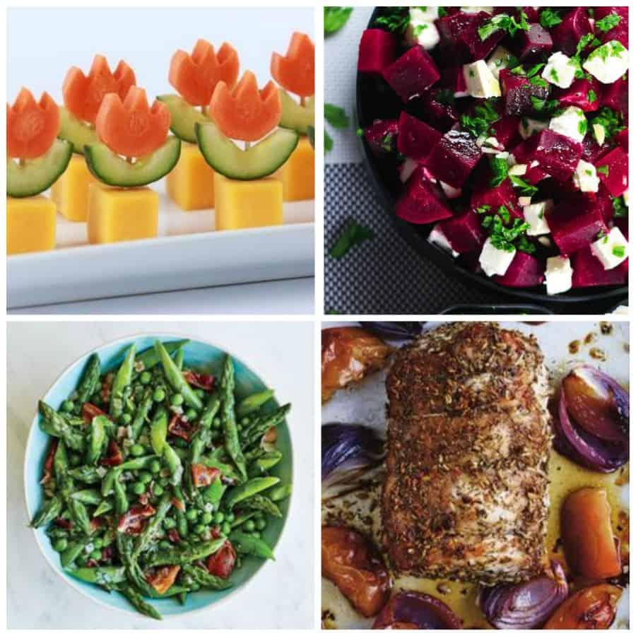 healthy easter menu