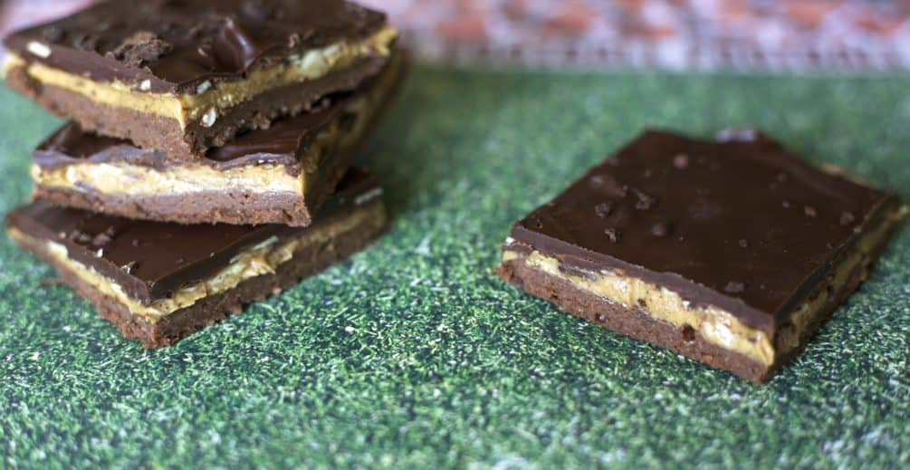 Tailgate Treat Almond Butter Chocolate Covered Espresso bars