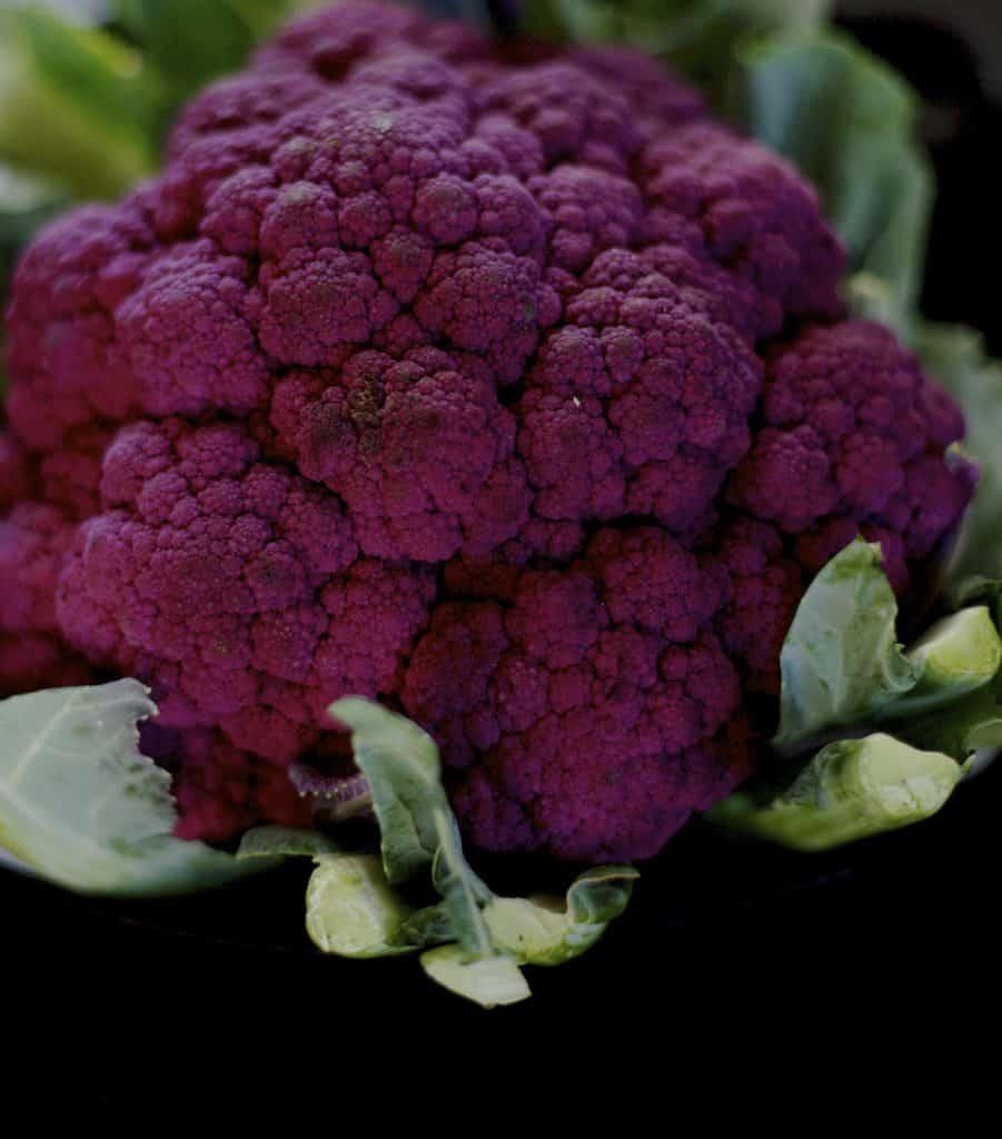 purple cauliflower nutrition