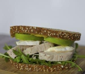 turkey apple brie sandwich
