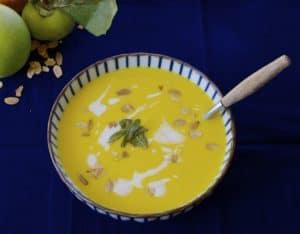 Butternut Squash & Apple Soup recipe