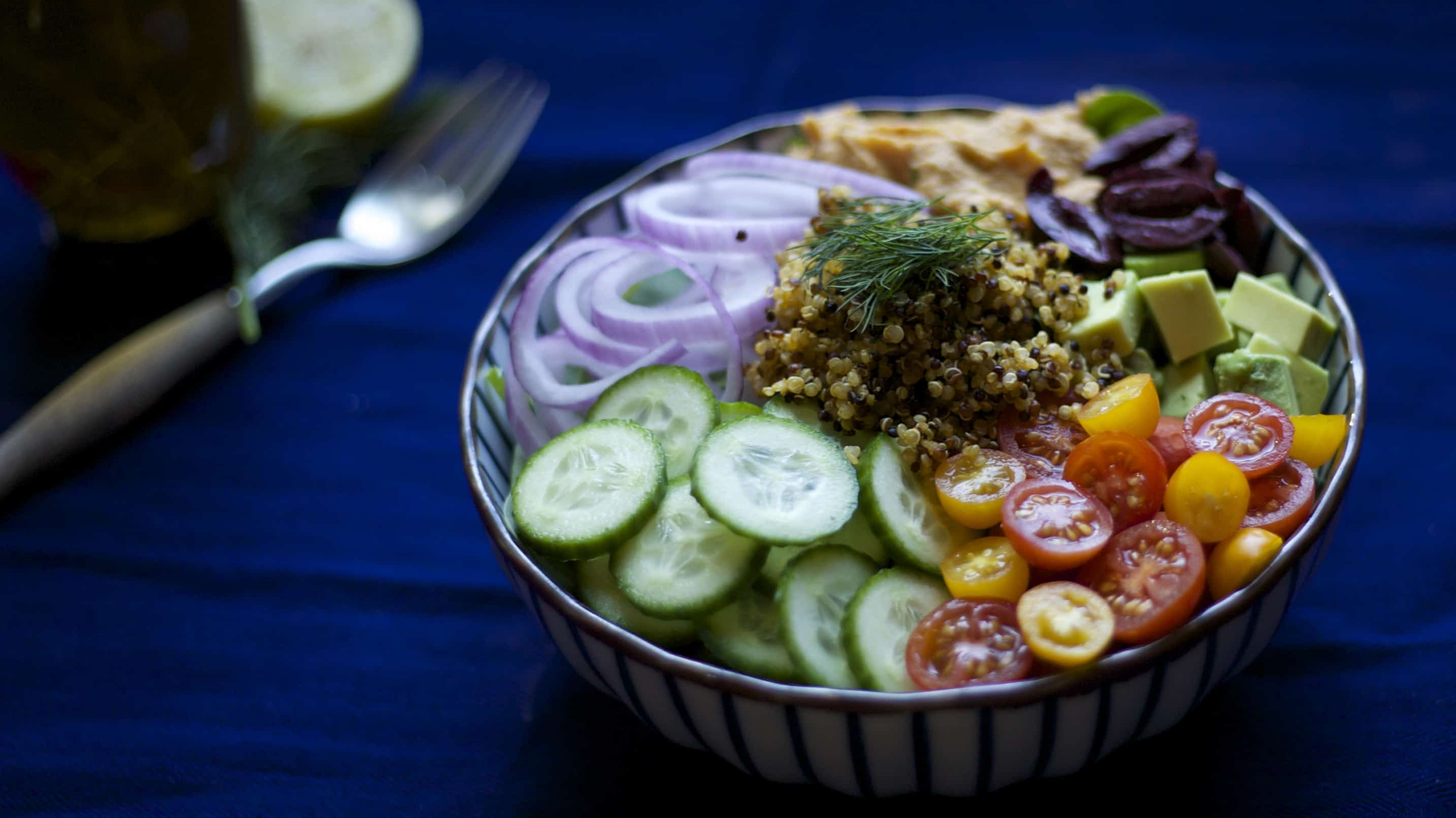 Mediterranean Plant Protein Power Bowl