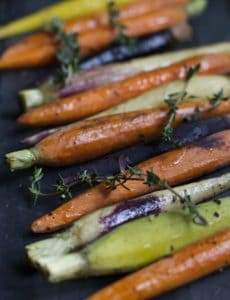 thyme roasted carrots1