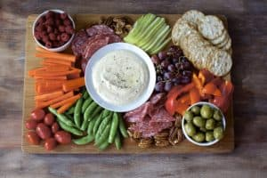Healthy Lunch Platter