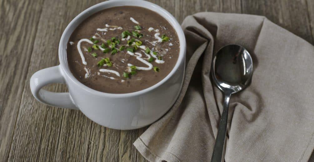 latin black bean soup recipe