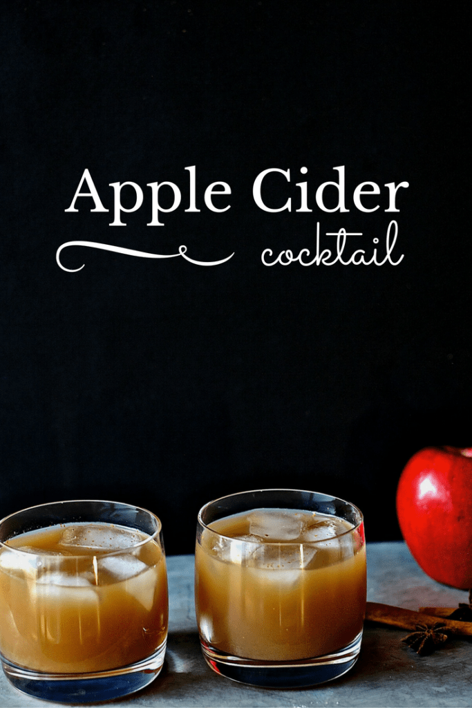 A fun and festive drink, this Apple Cider Cocktail is easy to make and delicious to drink. Only 3 ingredients and refreshingly light.