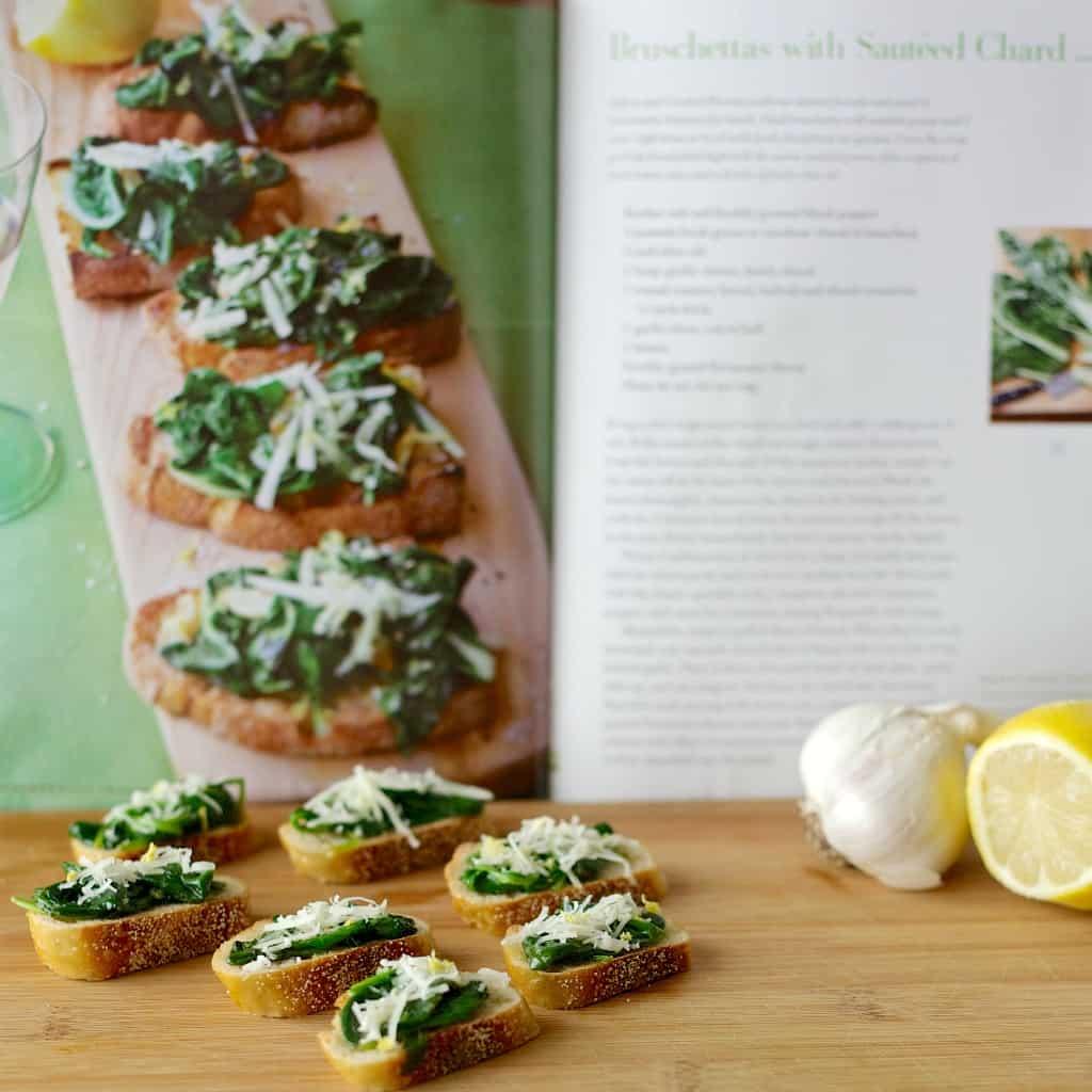 sautéed spinach crostini6