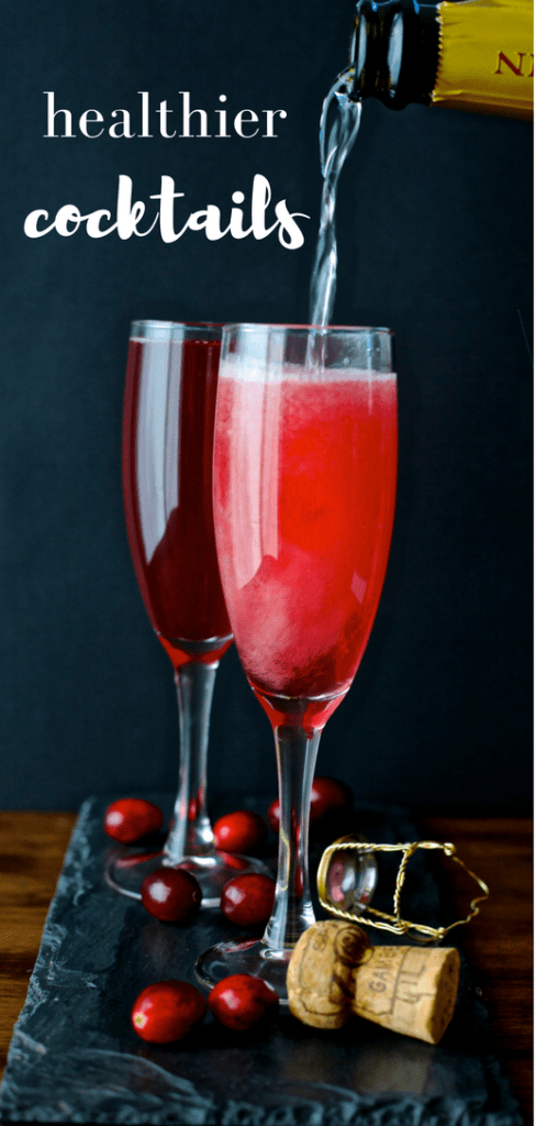 Healthy cocktail tips and recipes to toasting to a healthier you this new years eve. Find out which cocktails can fit into a healthy lifestyle.
