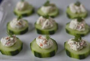 cucumber veggie spread