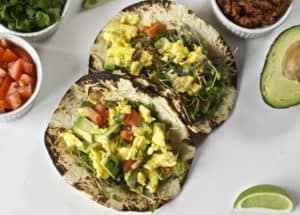 California Breakfast Tacos
