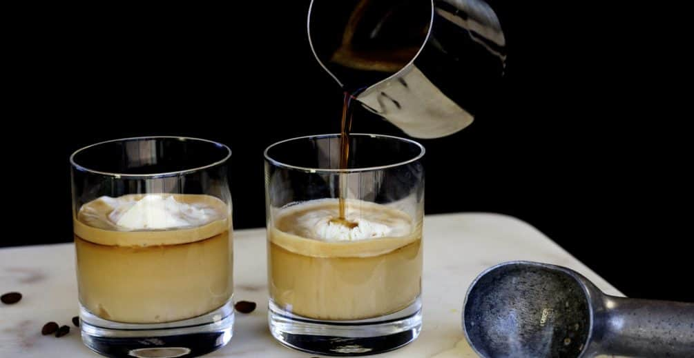coconut caramel affogado gourmesso coffee