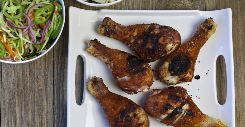 dry rub bbq chicken #recipemakeover
