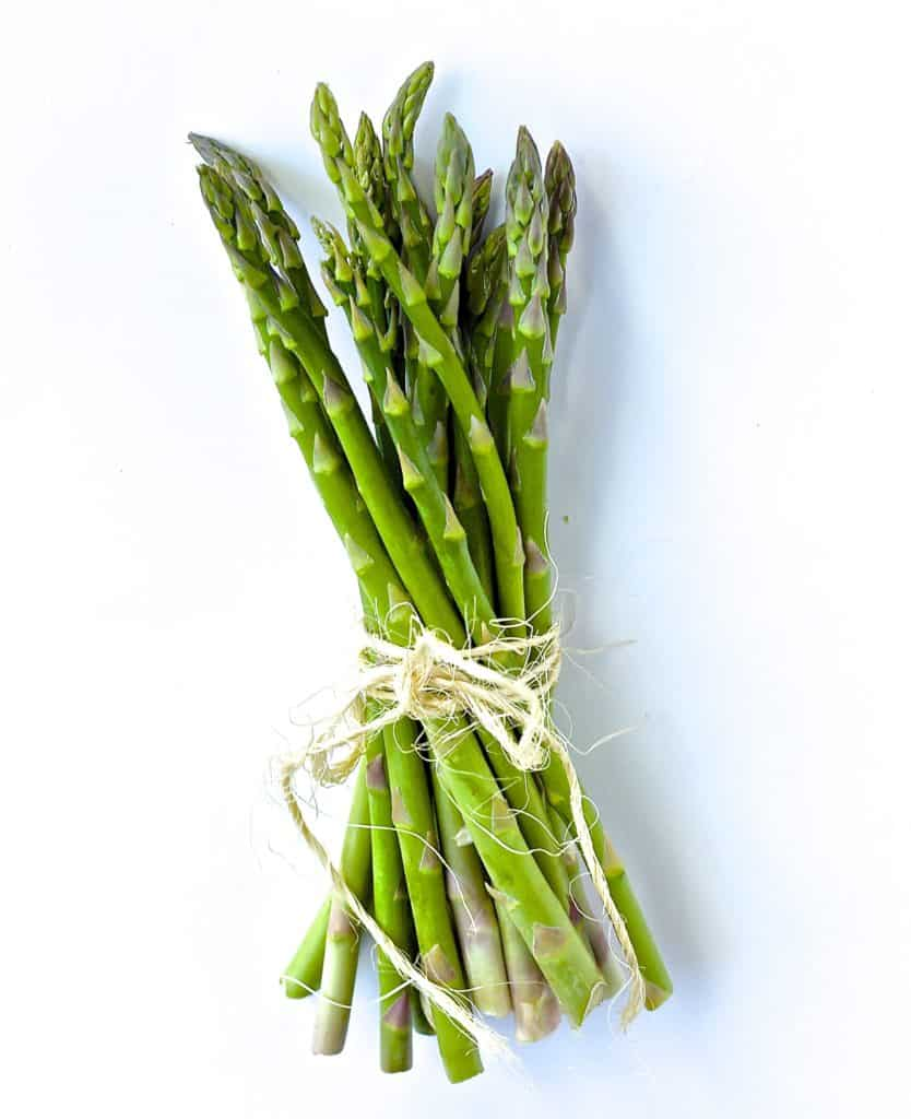 spring asparagus recipe idea and nutrition knowledge