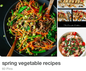 spring vegetable recipes