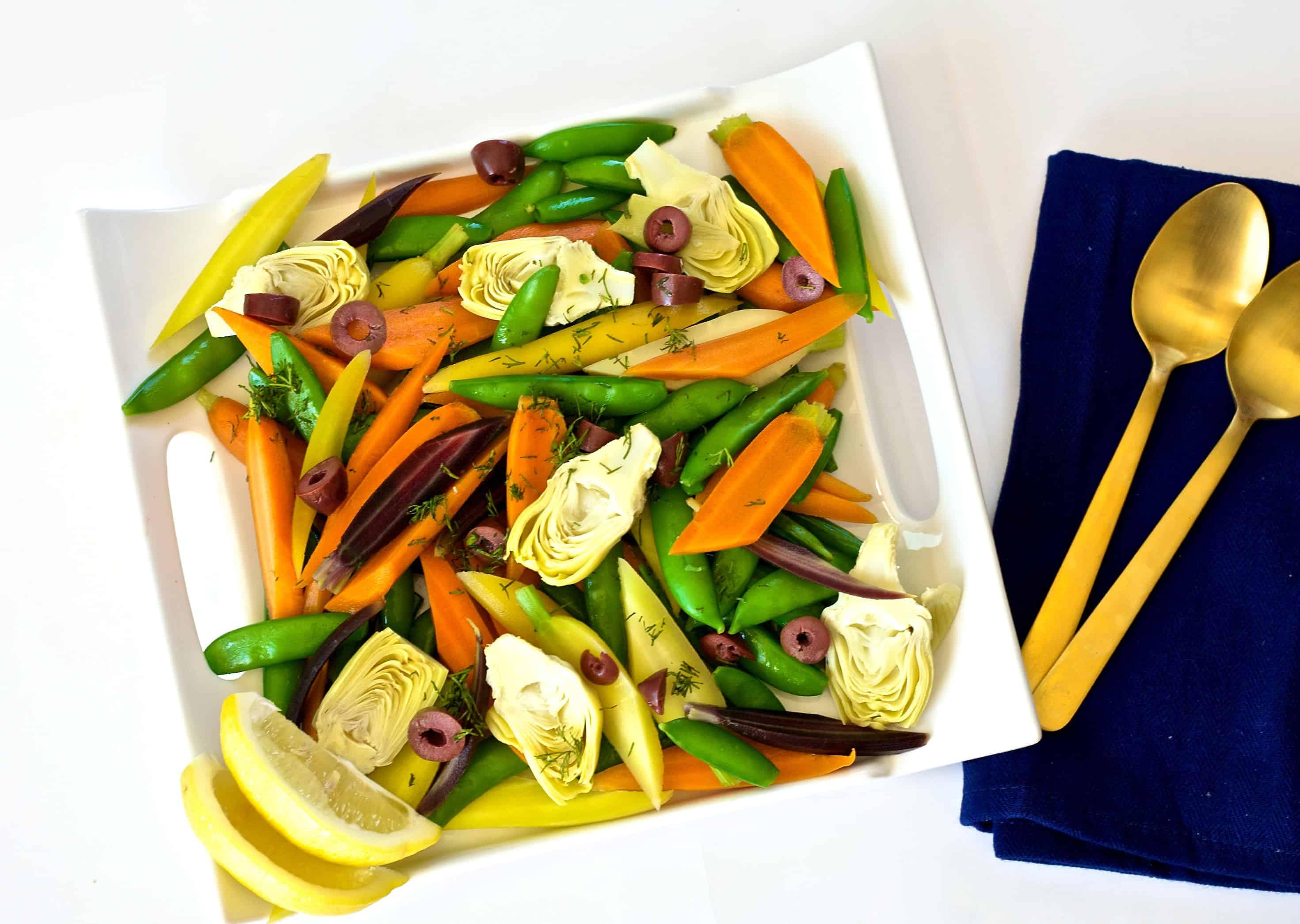 spring vegetable salad recipe
