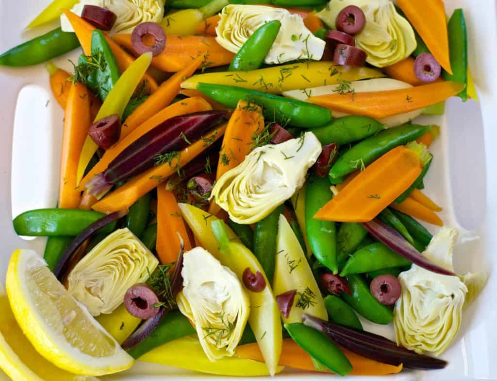 spring vegetable salad recipe1