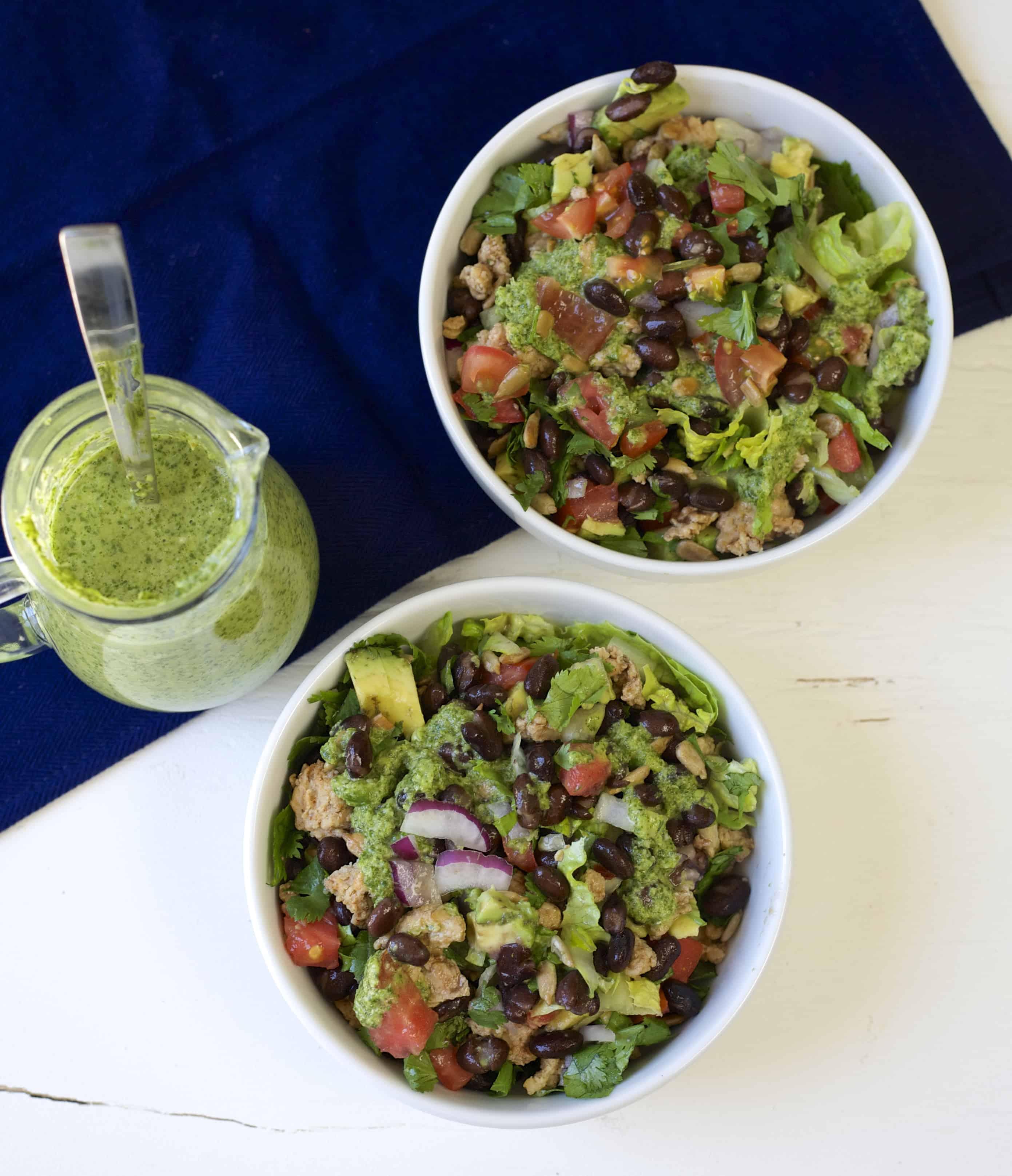 colorful taco salad 2