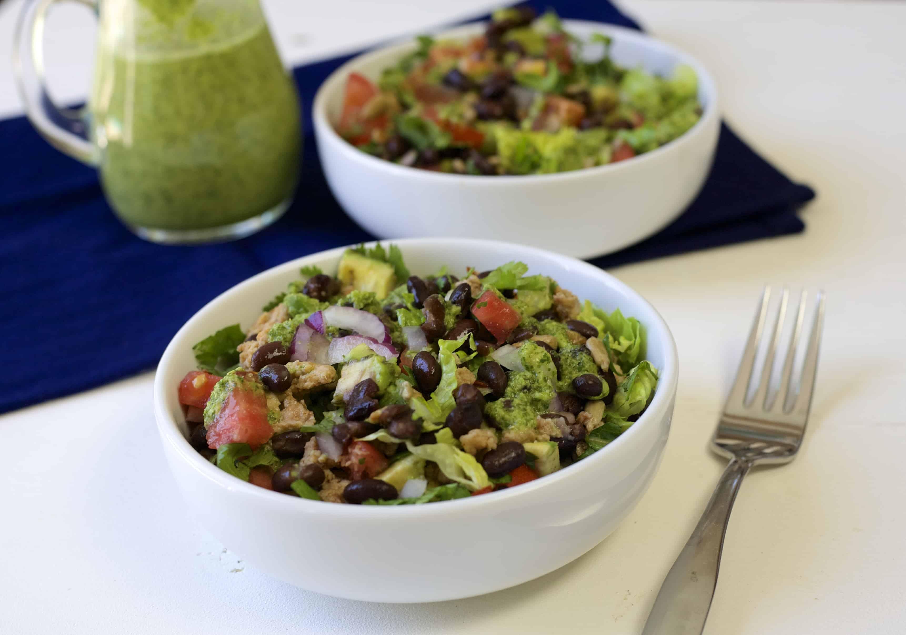 colorful taco salad 3