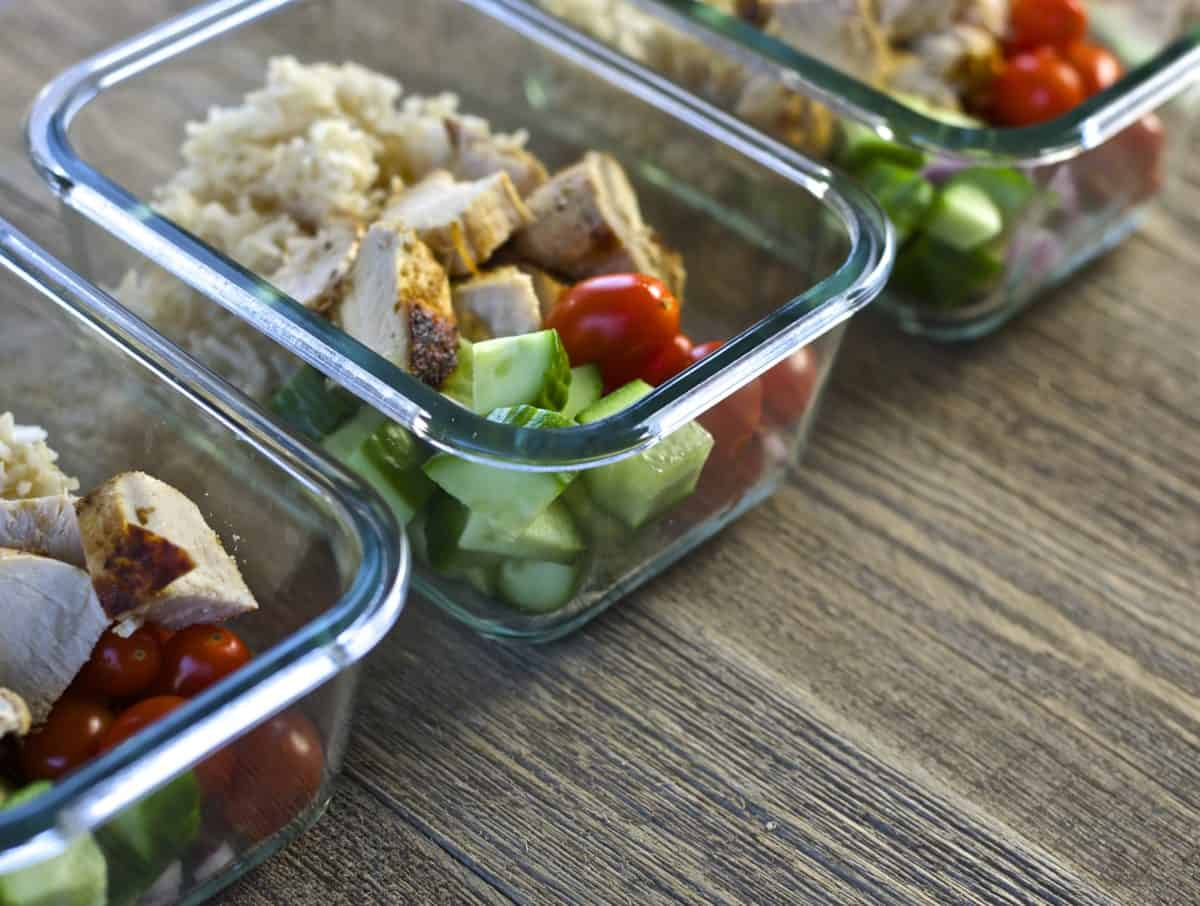 healthy lunches meal prep monday