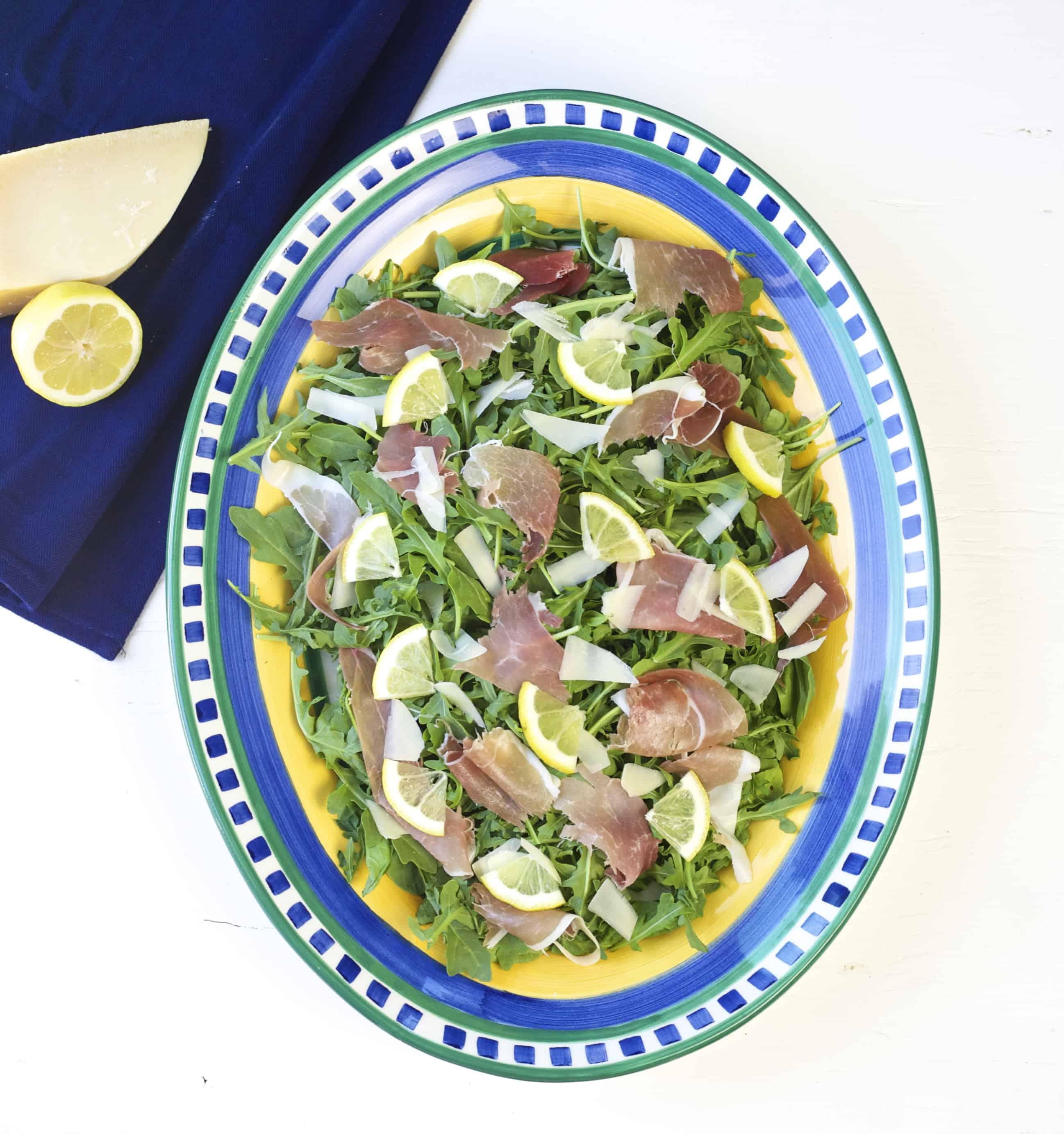 tuscan arugula salad 1