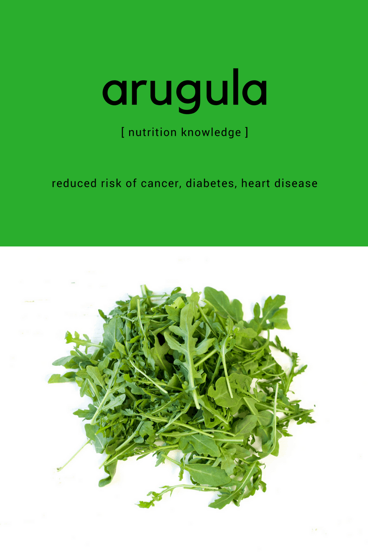 Sharing the health benefits of arugula and ways to include this ingredient as part of your well balanced diet.