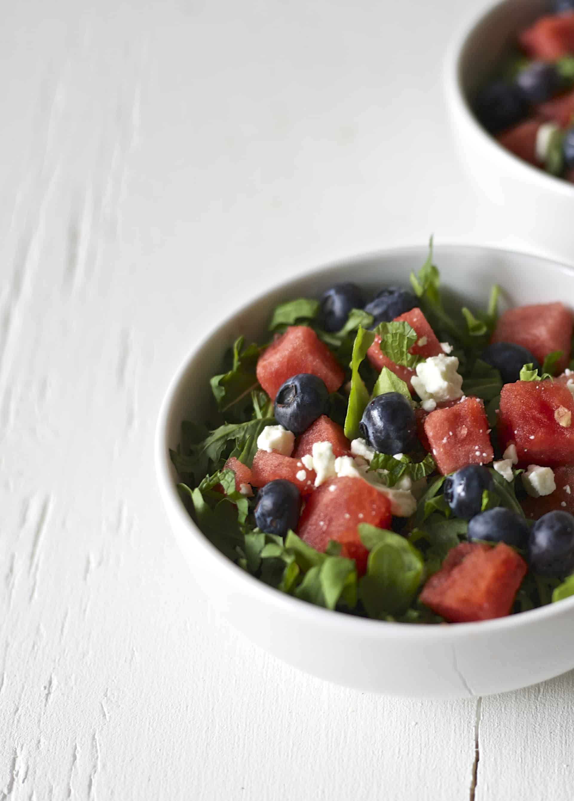 blueberry watermelon salad 5