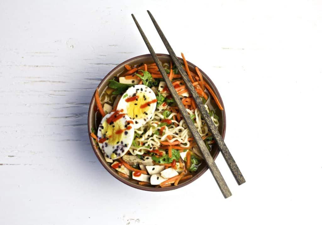 mason jar vegetarian ramen soup3