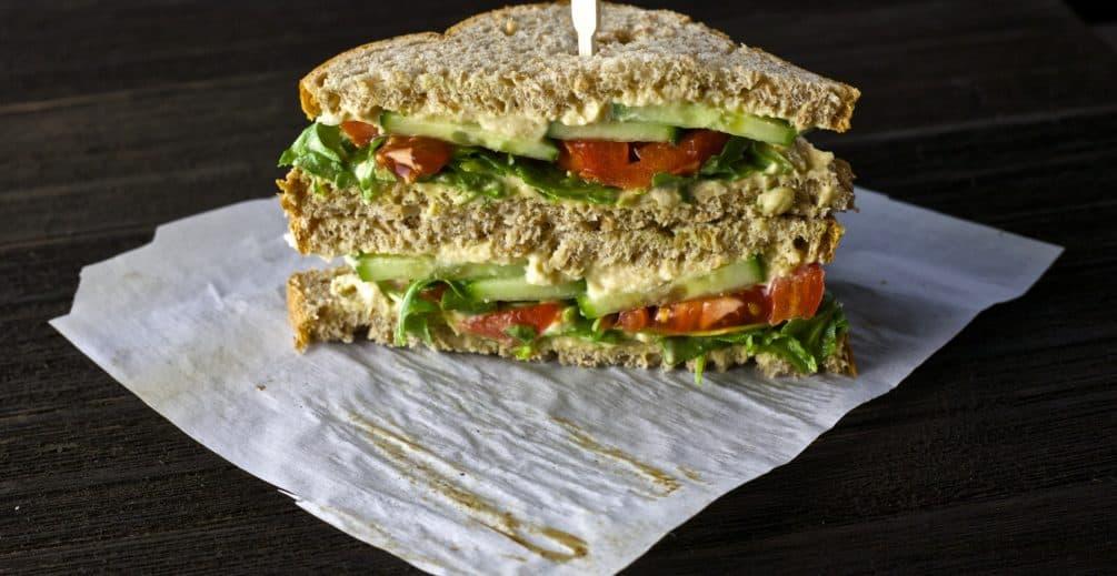 veggie sandwich 1