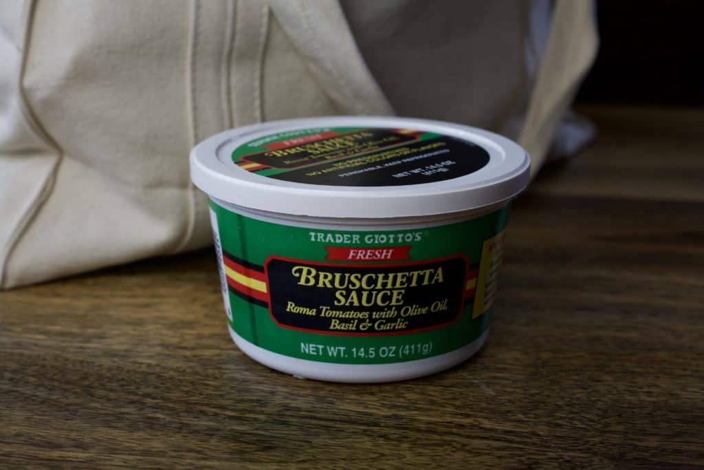 bruschetta sauce from trader joes