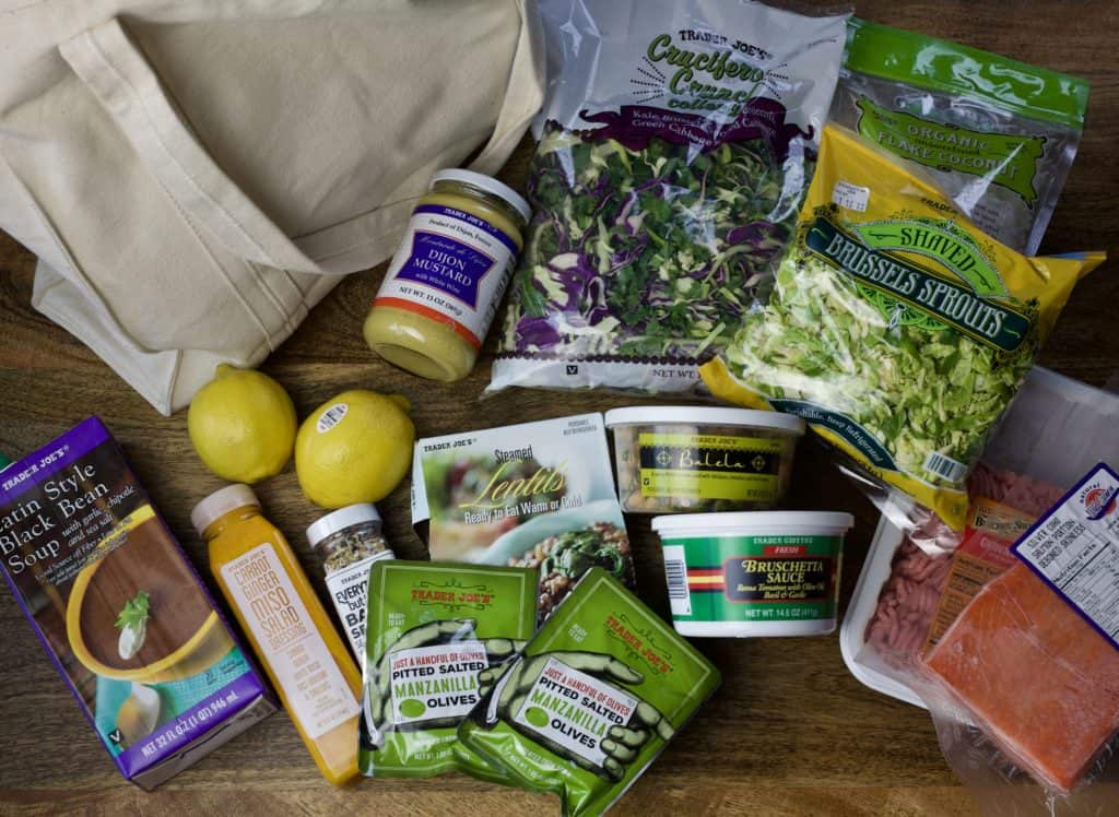 a dietitian's top 14 items to buy at trader joes
