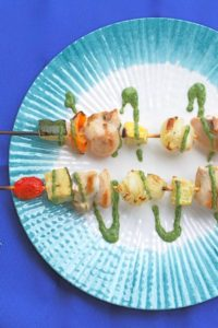Chicken-Kebabs-with-Herb-Sauce