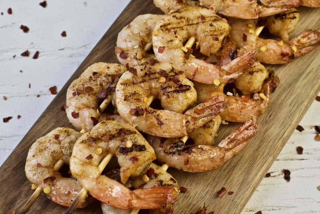 spicy grilled shrimp kebobs1