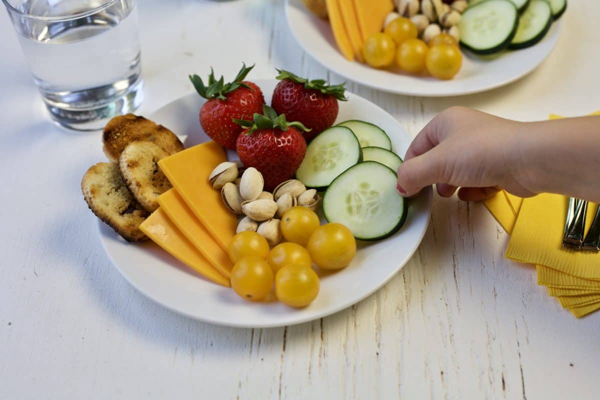 kid friendly cheese plates