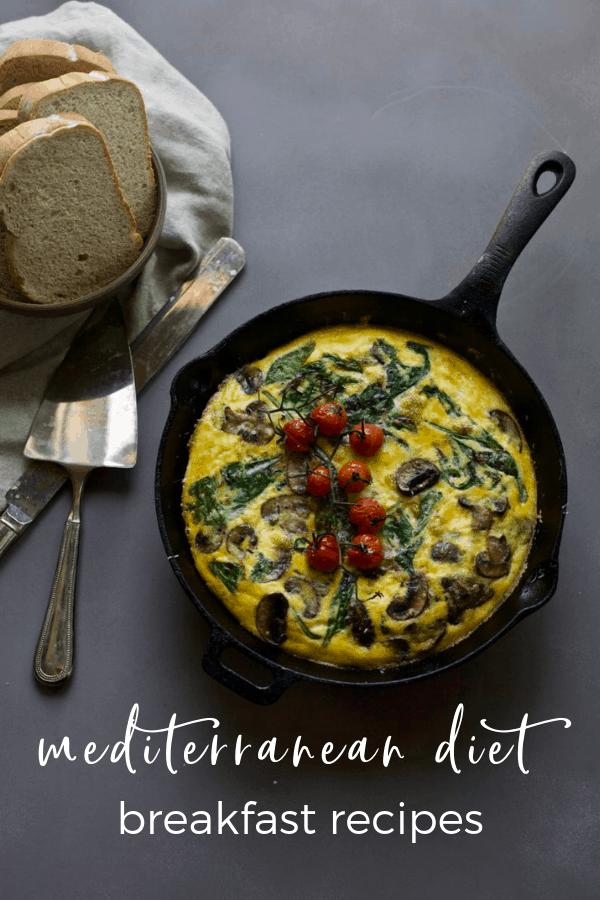mediterranean diet breakfast ideas and recipes