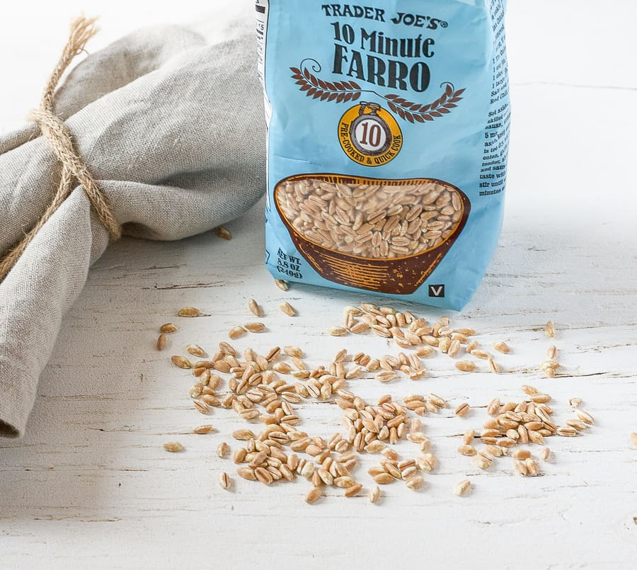 fast cooking farro from trader joes